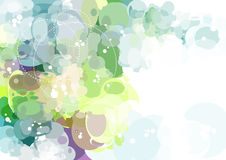Vector Background. Abstract colorfu Vector Background of the ellipses Stock Image