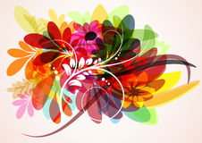 Vector Background. Abstract colorfu Vector Background of the ellipses Royalty Free Stock Photo