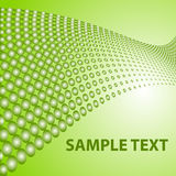 Vector background with 3d-balls for your design. In vector version you can edit colors and details Stock Photo