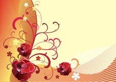 Vector background-9 floreale Immagine Stock Libera da Diritti
