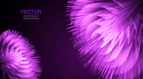 Vector background. Abstract 3D glowing bright lines. Vector background. Abstract 3D glowing bright lines Stock Photos