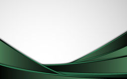 Vector background abstract design green stripes. EPS 10 Royalty Free Stock Photography