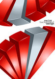 Vector background abstract geometric design Stock Photos