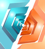 Vector background abstract geometric design Stock Photography