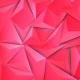 Vector background abstract polygon triangle. Royalty Free Stock Images