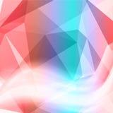 Vector background abstract polygon triangle Stock Photos