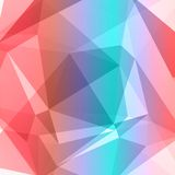 Vector background abstract polygon triangle Royalty Free Stock Photos