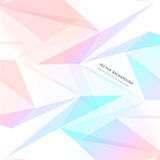 Vector background abstract polygon triangle Stock Image