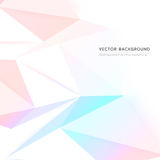 Vector background abstract polygon triangle Royalty Free Stock Photo