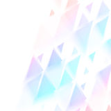 Vector background abstract polygon triangle Royalty Free Stock Images