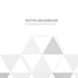 Vector background abstract polygon triangle Stock Images