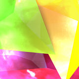 Vector background abstract polygon triangles Stock Photos