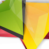 Vector background abstract polygon triangles Royalty Free Stock Images