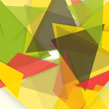 Vector background abstract polygon triangles Royalty Free Stock Photos