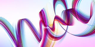 Vector background. Abstract purple swirl. Royalty Free Stock Images