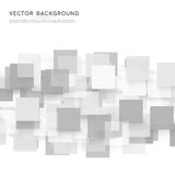 Vector background abstract squares Royalty Free Stock Images