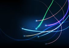 Vector background abstract technology communication data Science Stock Photos