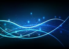 Vector background abstract technology communication data Science Royalty Free Stock Images