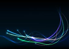 Vector background abstract technology communication data Science Stock Images