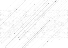 Vector background abstract technology communication data Science Royalty Free Stock Photos