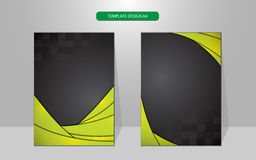 Vector background abstract technology concept cover besign Royalty Free Stock Photo