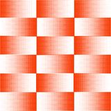 Vector Background, abstraction halftone orange squares. Pattern. royalty free illustration