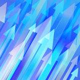 Vector background with arrows Royalty Free Stock Photography