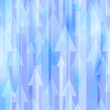 Vector background with arrows Stock Images