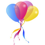 Vector Background with Balloons Holiday Royalty Free Stock Image