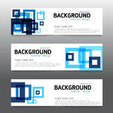 Vector background  banner Collection horizontal business set tem Stock Photo