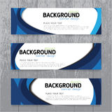 Vector background  banner Collection horizontal business set  Stock Photography