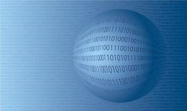 Vector background of  binary numbers Royalty Free Stock Photo