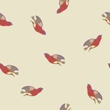 Vector background with birds Royalty Free Stock Image
