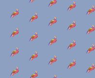 Vector background with birds Royalty Free Stock Photos