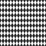 Vector background with black and white rhombus Royalty Free Stock Images