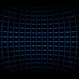 Blue neon net Royalty Free Stock Photo