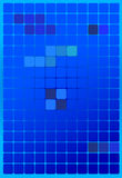 Vector background - Blue Square with gradation Royalty Free Stock Image