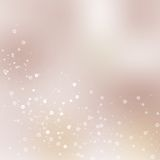 Vector background blur with a molecular structure Royalty Free Stock Photo