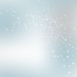 Vector background blur with a molecular structure Royalty Free Stock Photos