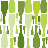 Vector background with bottles. Stock Photo