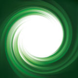 Vector background of bright green swirls Royalty Free Stock Photo