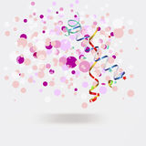 Vector background with bubbles Royalty Free Stock Photos
