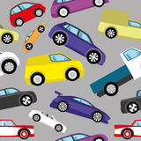 Vector background. Cars. Stock Photo
