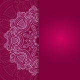 Vector background for celebrations. Vector lace background for greeting card or banner Stock Images