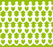 Vector Background Children garland Royalty Free Stock Photography