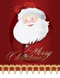 Vector background for Christmas and New year Stock Images