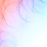 Vector 10 17.09.15. Vector background circles banner with drop shadows. Vector illustration Royalty Free Stock Images