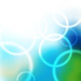 Vector background with circles Royalty Free Stock Photo