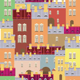Vector background of the city Stock Photography