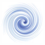 Vector background of cobalt swirling water texture Royalty Free Stock Images